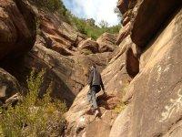 senderismo rocas