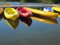 Choose one of the canoes