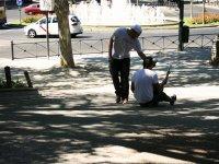 Con el alumno a pie de calle