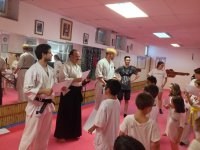 Contacto con artes marciales