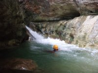 Canyoning for two people