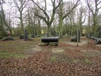 the paintball field