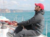 Labores de navegacion en el barco