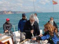 Practicando maniobras de navegacion