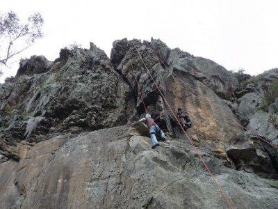 Curso de iniciación a la escalada en roca