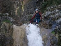 Descansando en la cascada
