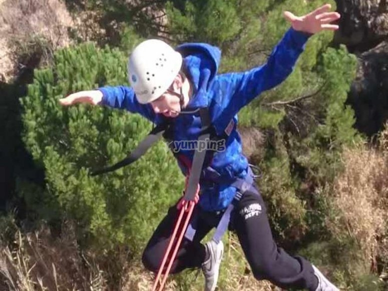 Dopo il bungee jumping