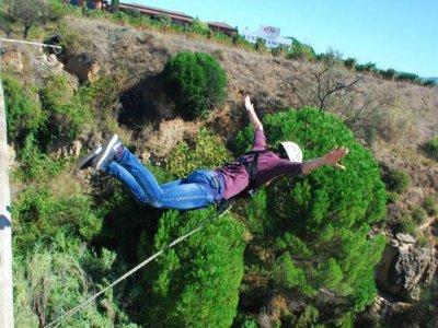 2 saltos puenting en Sant Sadurní d´Anoia