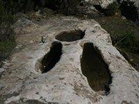 Recuerdos del pasado en la roca