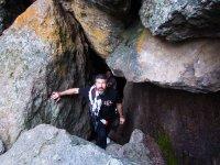 Saliendo de la cueva