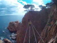 步骤鸥之间Grapas费拉塔抓住在费拉塔由步骤电缆步骤
