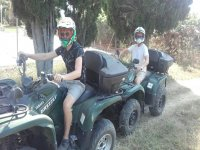 Quad route through Denia