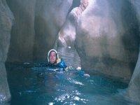 瀑布跳跃实现山沟