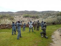 Paintball 100 balls in Valle del Jerte