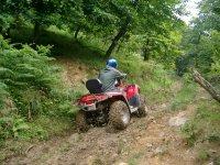 Quad quad nelle Asturie