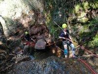 监控指导的独木舟学习在山沟女孩中垂降