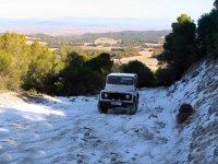 Ruta 4x4 por la nieve