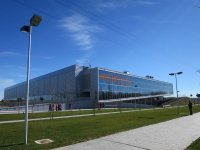 Exteriores instalaciones deportivas