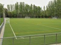 Campo para jugar al futbol