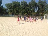 Deporte sobre la arena