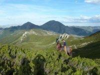 A caballo en los montes astures