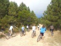 四山地自行车路线