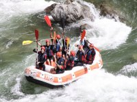 Rafting in acque bianche