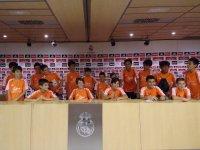 Sala de prensa del Madrid