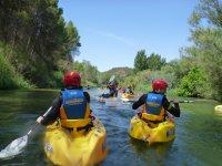 Kayak con Aiguaroca
