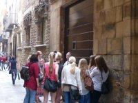 参观巴塞罗那哥特区