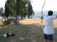 在高山锐化您的射箭