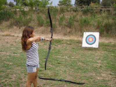 Archery in Olván in the Woodlands, 1-Hour