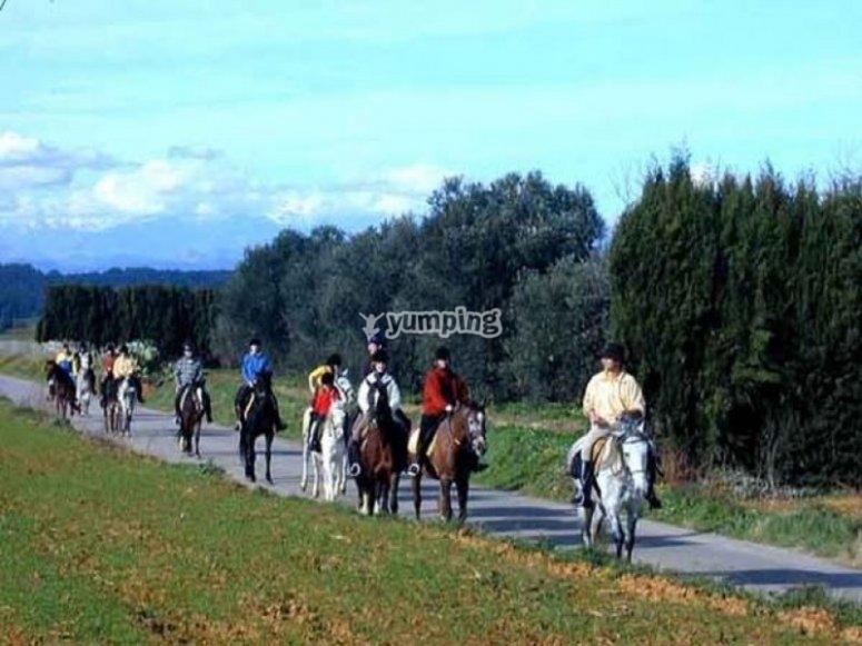 Paseo rural por Maià de Montcal