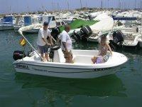 Alquiler de barco sin patrón