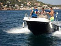 Ruta en barco en Alicante