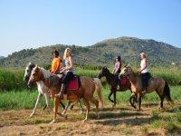 Ruta ecuestre en Mallorca