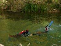 Practicar snorkel en el Tajo