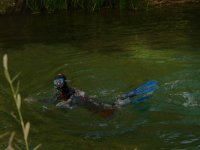 Snorkeling in the Tagus