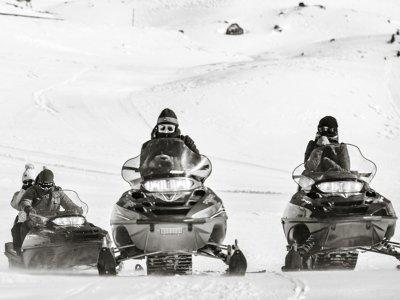 Cerler的双座雪地摩托车30分钟