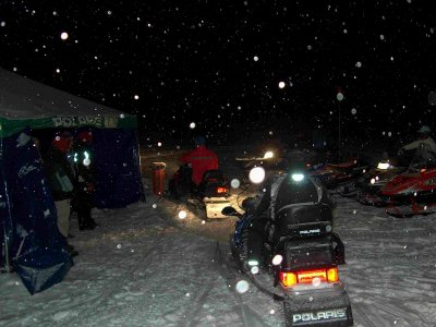 Night Trip + Single Snowmobile + Dinner, Cerler