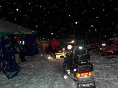 Excursión nocturna moto individual y cena Cerler