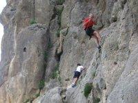 Arrampicata su roccia