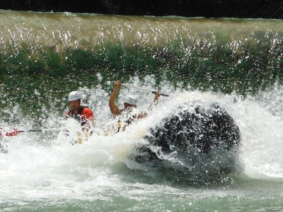 Rafting down the Segura Cieza-Blanca + Picnic