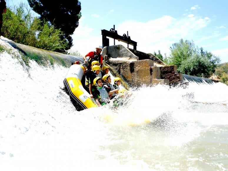 Rafting at Yeste