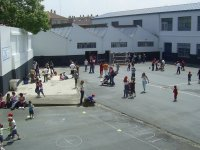 Large playground to play