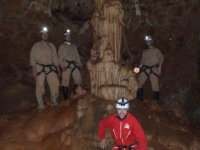 Caving in the cave of the Majadillas