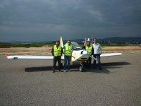 ULM -999中的飞行洗礼 - 超轻型飞机在科尔多瓦上空飞行