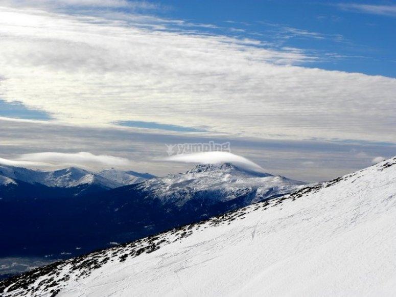 Vistas desde la montaña