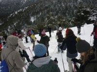Raquetas de nieve + comida gratis