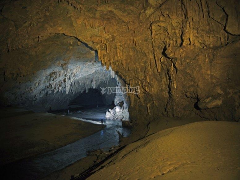 Cueva de Huautla Foto: https://fondeadora.mx/